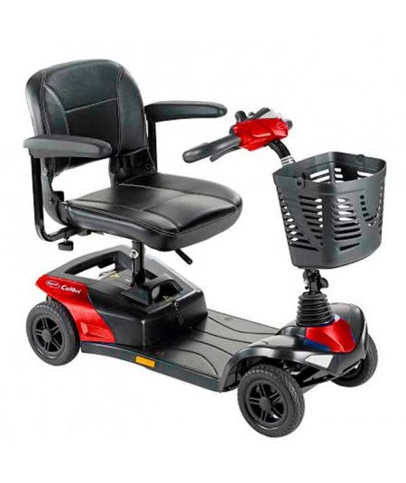 INVACARE Colibri scooter de movilidad en rojo