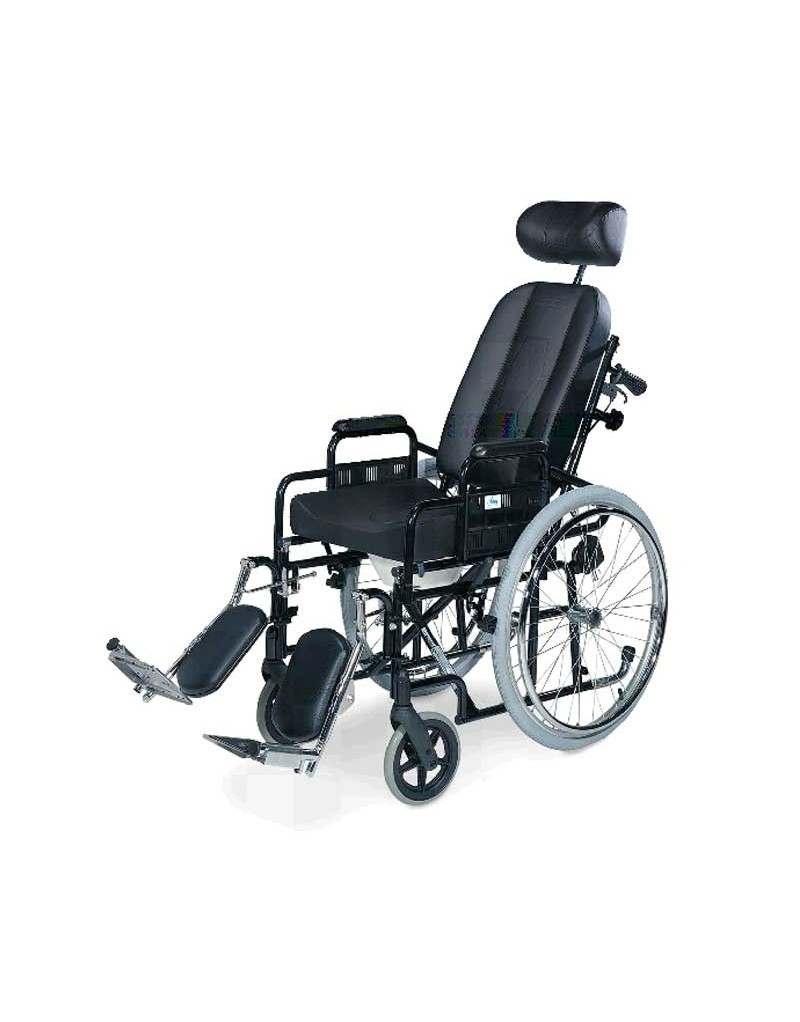 Silla de ruedas en acero IM Confort PC-15