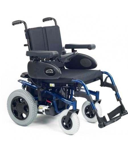 SUNRISE Tango (configurada) silla de ruedas eléctrica en azul