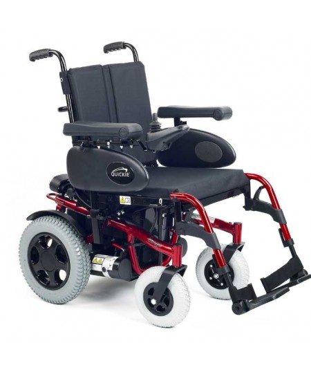 SUNRISE Tango (configurada) silla de ruedas eléctrica en rojo