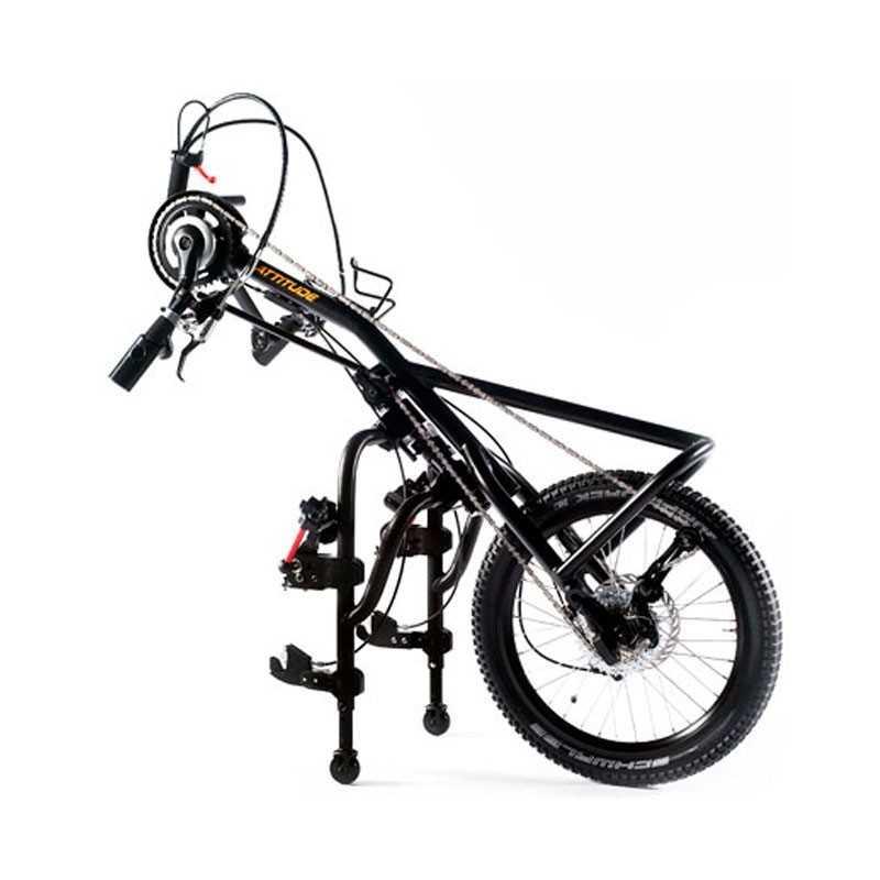 SUNRISE Quickie  Handbike Attitude Manual para silla de ruedas