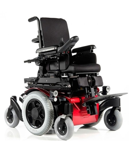 SUNRISE Zippie Salsa M2 silla de ruedas eléctrica infantil en rojo