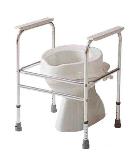 Cuadro para lavabos en aluminio anodizado. Adeo. INVACARE