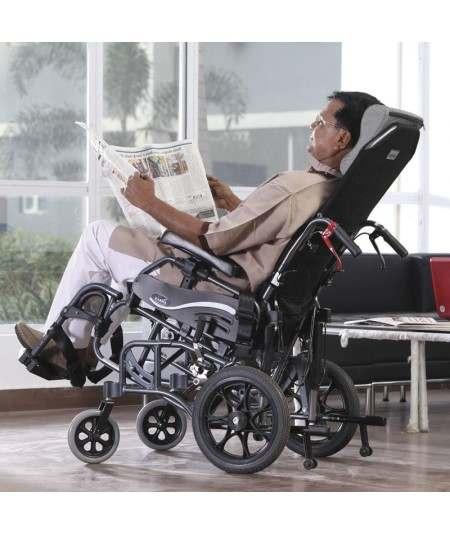 Silla de ruedas geriátrica - AD189