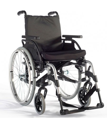 Silla de ruedas en aluminio SUNRISE Breezy BasiX2