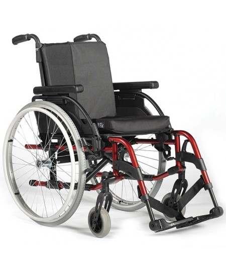 Silla de ruedas en aluminio SUNRISE Breezy RubiX 2