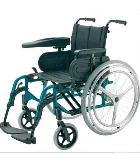 Silla de ruedas en aluminio INVACARE Action 4 Doble Aro Hemiplejia izquierda