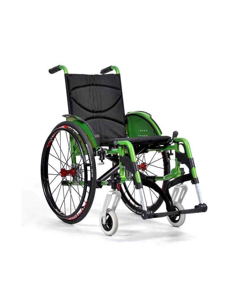 VERMEIREN V200 Go silla de ruedas en aluminio
