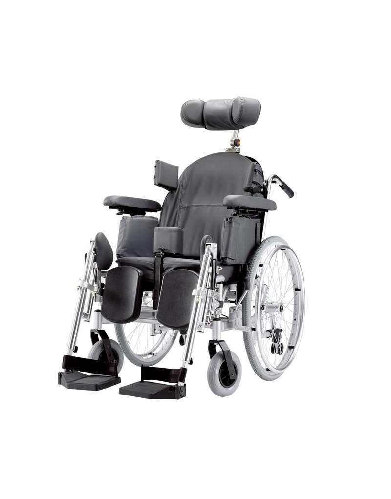 BISCHOFF Triton silla de ruedas en acero posicionadora