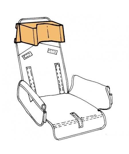 Reposacabezas en forma de U REHAGIRONA accesorio para silla pc