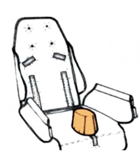 Taco abductor REHAGIRONA Rehatom 4 accesorio para silla pc