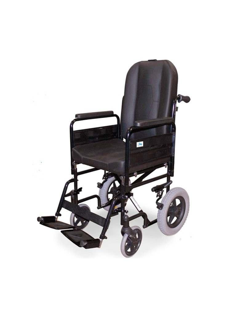 Silla de ruedas en acero IM Confort PC-30
