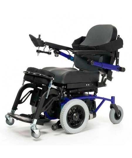 VERMEIREN Navix SU bipedestación silla de ruedas eléctrica en azul