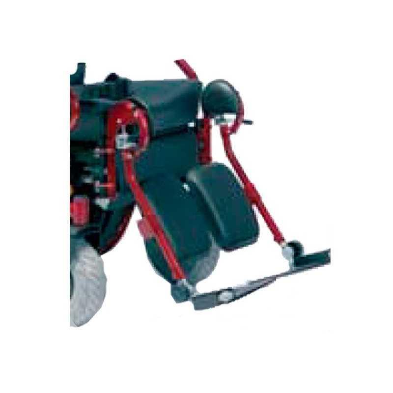 Reposapiés VERMEIREN accesorio para silla de ruedas eléctrica Forest 3