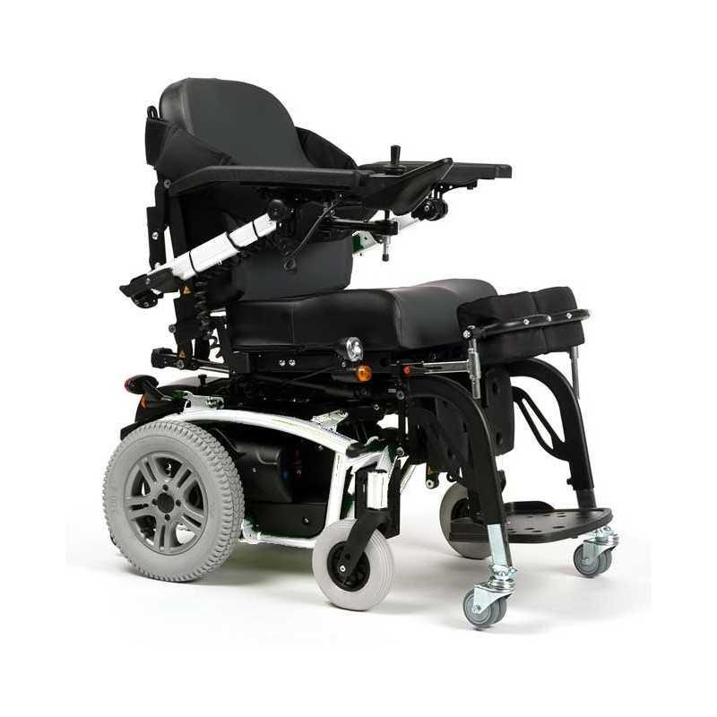 VERMEIREN Forest 3 SU bipedestación silla de ruedas eléctrica en blanco