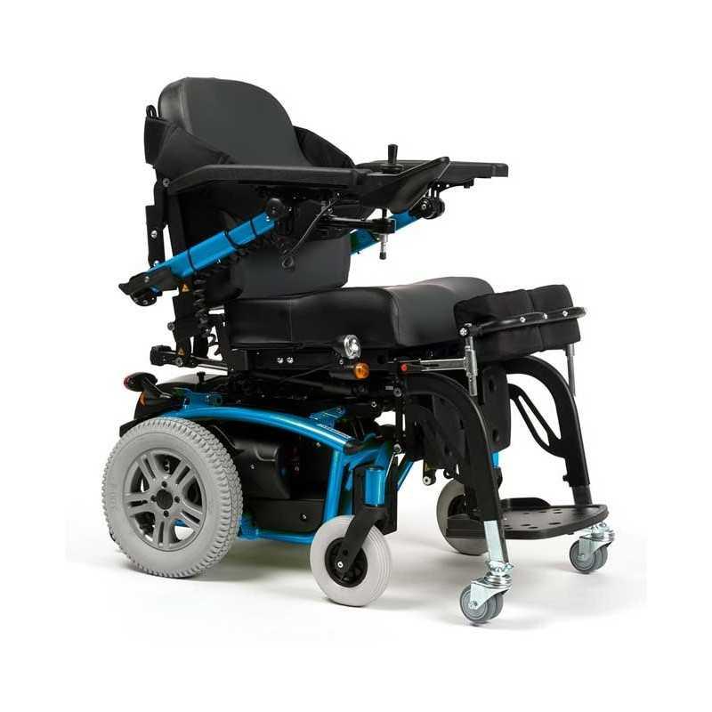 VERMEIREN Forest 3 SU bipedestación silla de ruedas eléctrica en celeste