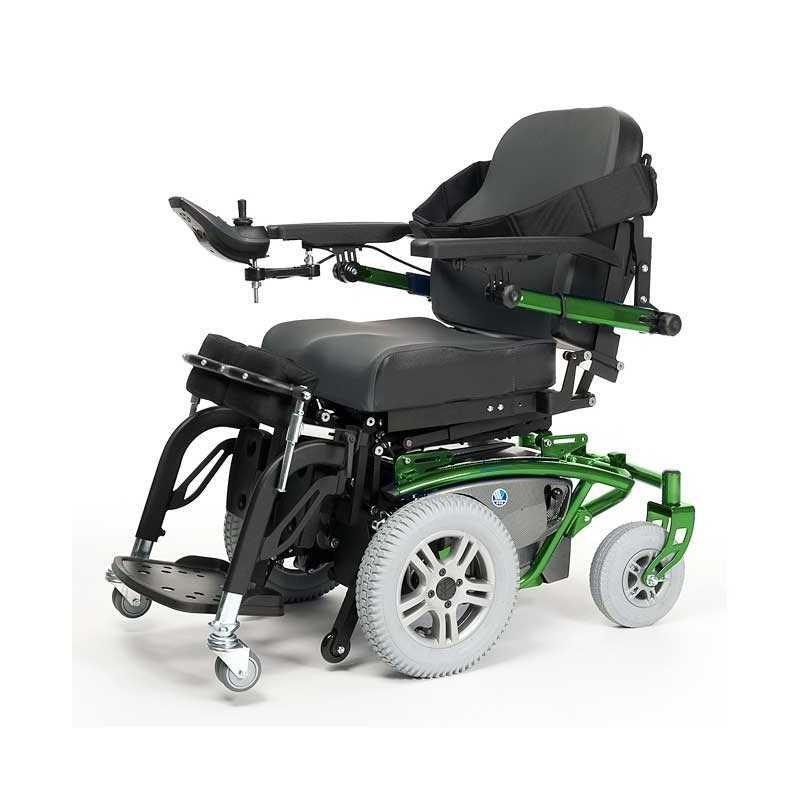 VERMEIREN Timix SU bipedestación silla de ruedas eléctrica en verde