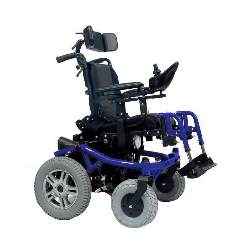 VERMEIREN Forest Kids silla de ruedas eléctrica en azul